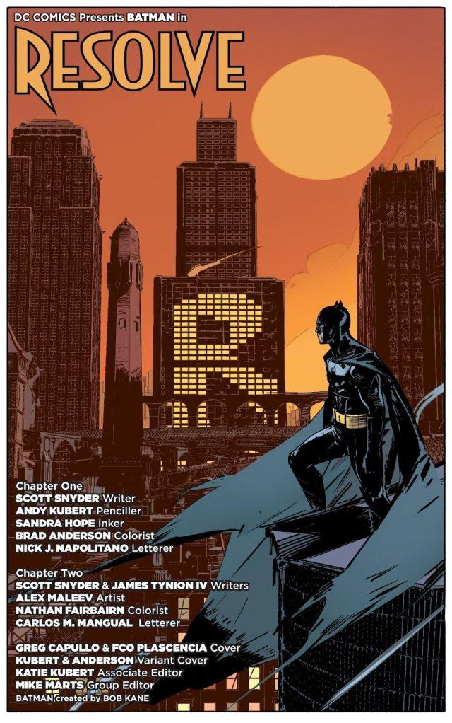 From –Batman Vol. 2 #18