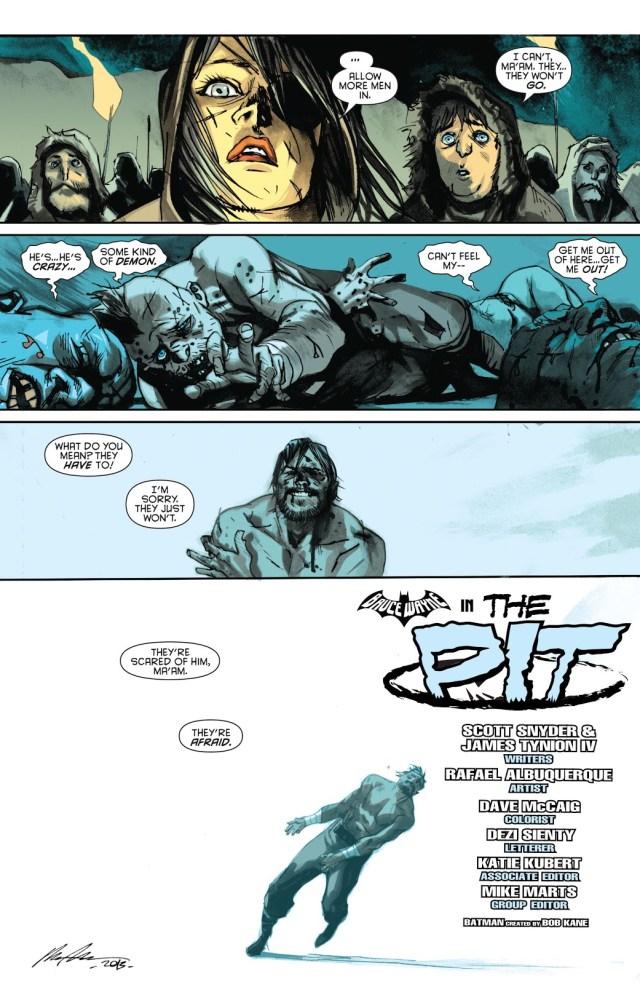 Bruce Wayne In A Norway Death-Match