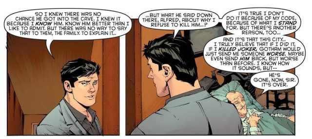 Bruce Wayne Reveals His Secret Identity To The Joker