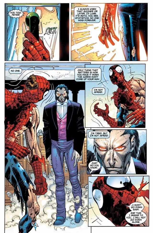 Spider-Man And Ezekiel VS Morlun – Comicnewbies