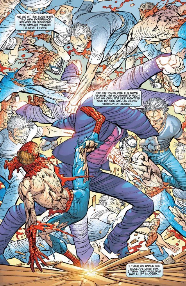 Spider-Man And Ezekiel VS Morlun