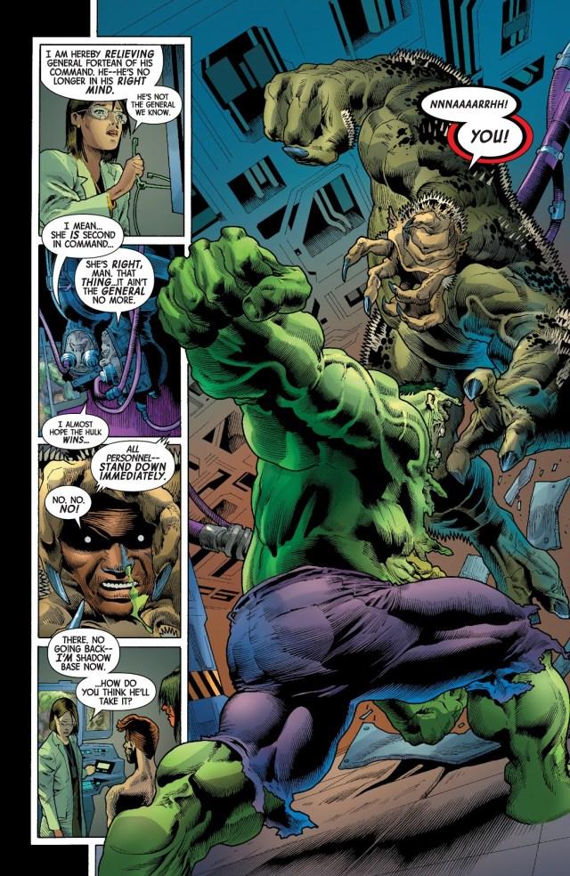 The Immortal Hulk Kills General Fortean