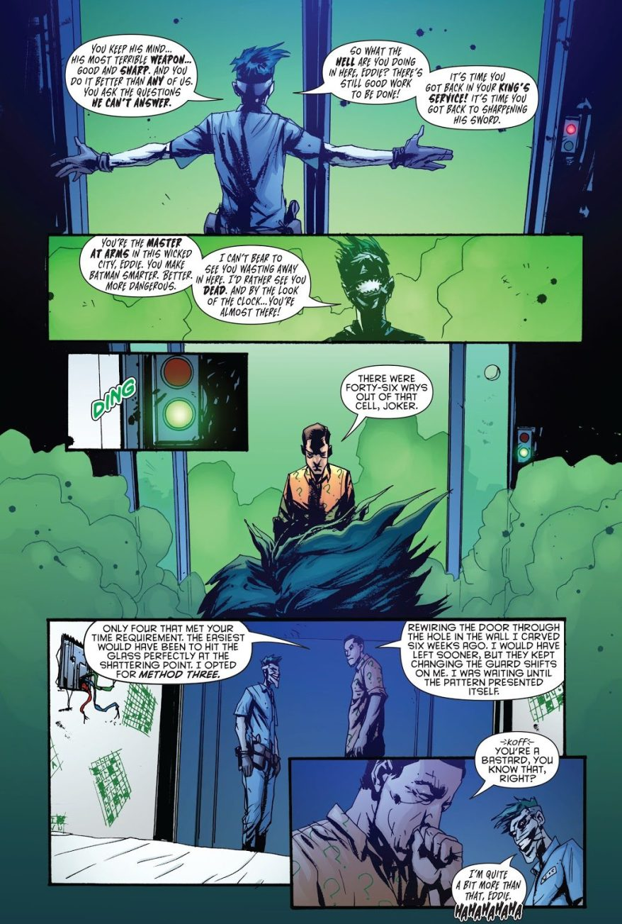 The Joker Recruits The Riddler (Death Of The Family)