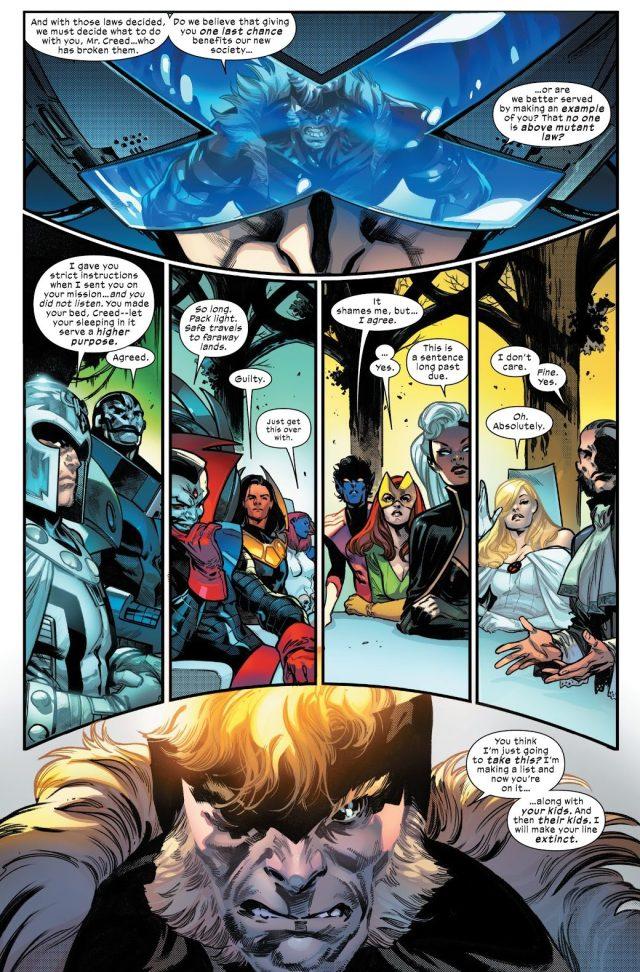 The Quiet Council Of Krakoa Judges Sabretooth