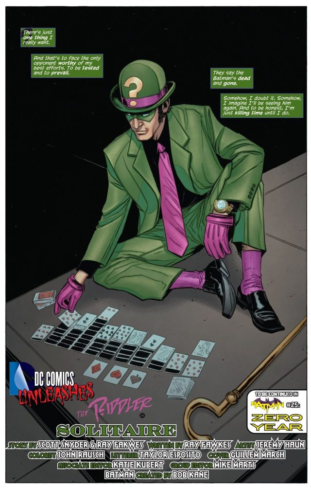 The Riddler (Batman Vol. 2 #23.2) 2