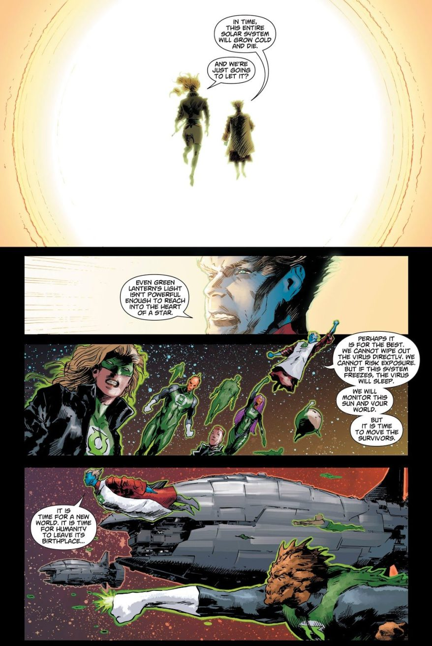 Zombie Superman Kills The Solar Systeam (Dceased)