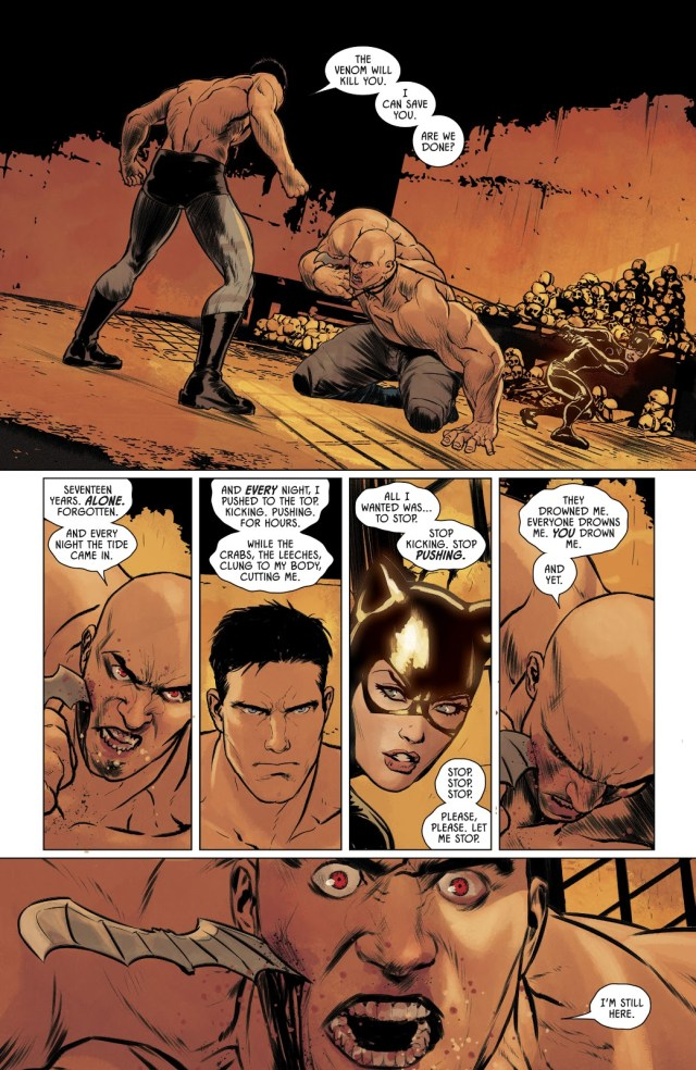 Batman And Catwoman VS Bane (Rebirth)