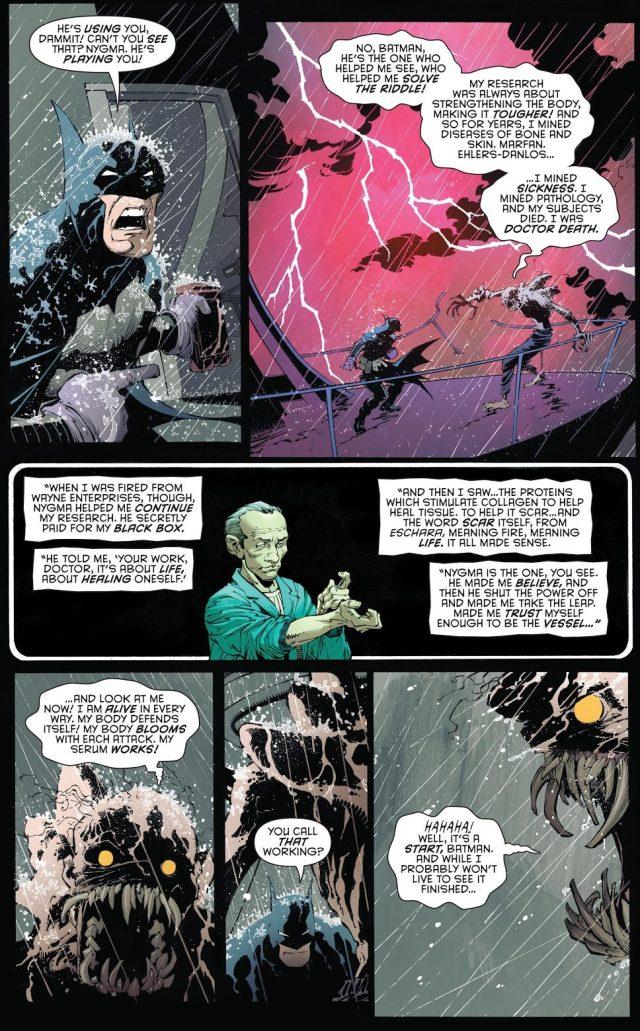 Batman VS Doctor Death