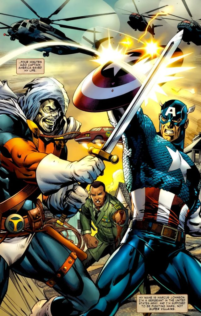 Captain America And Taskmaster (Battle Scars #2)