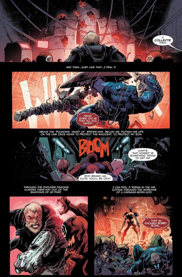 Eddie Brock Bonds With The Legion Symbiote