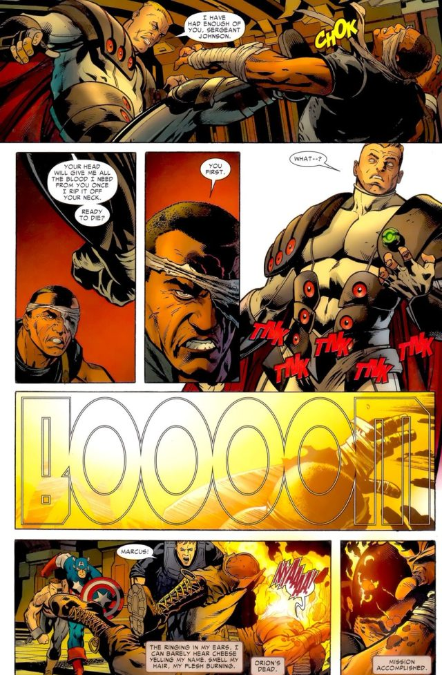Nick Fury JR Kills Orion
