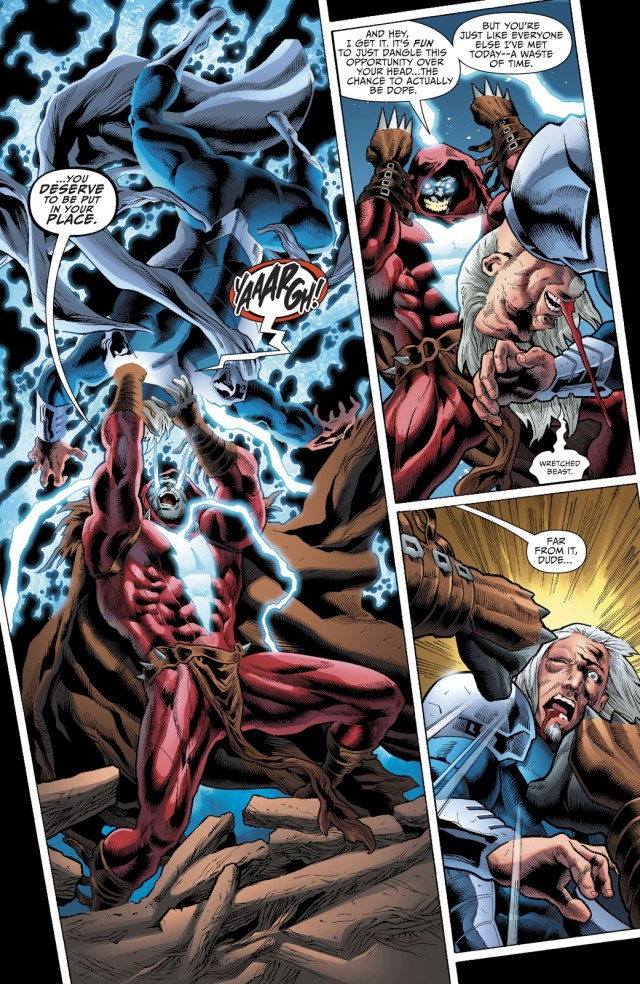 Shazam Who Laughs Beats Up Thor And Rao