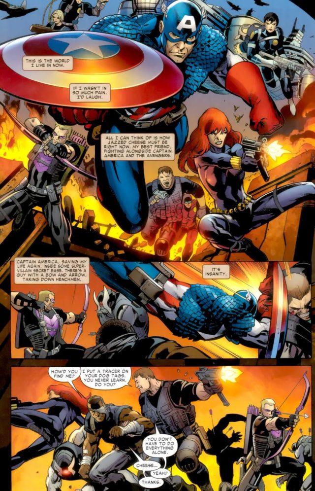 The Avengers (Battle Scars)