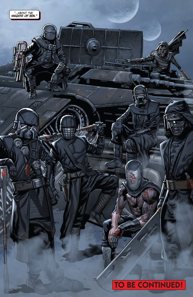 The Knights Of Ren (The Rise Of Kylo Ren #1)