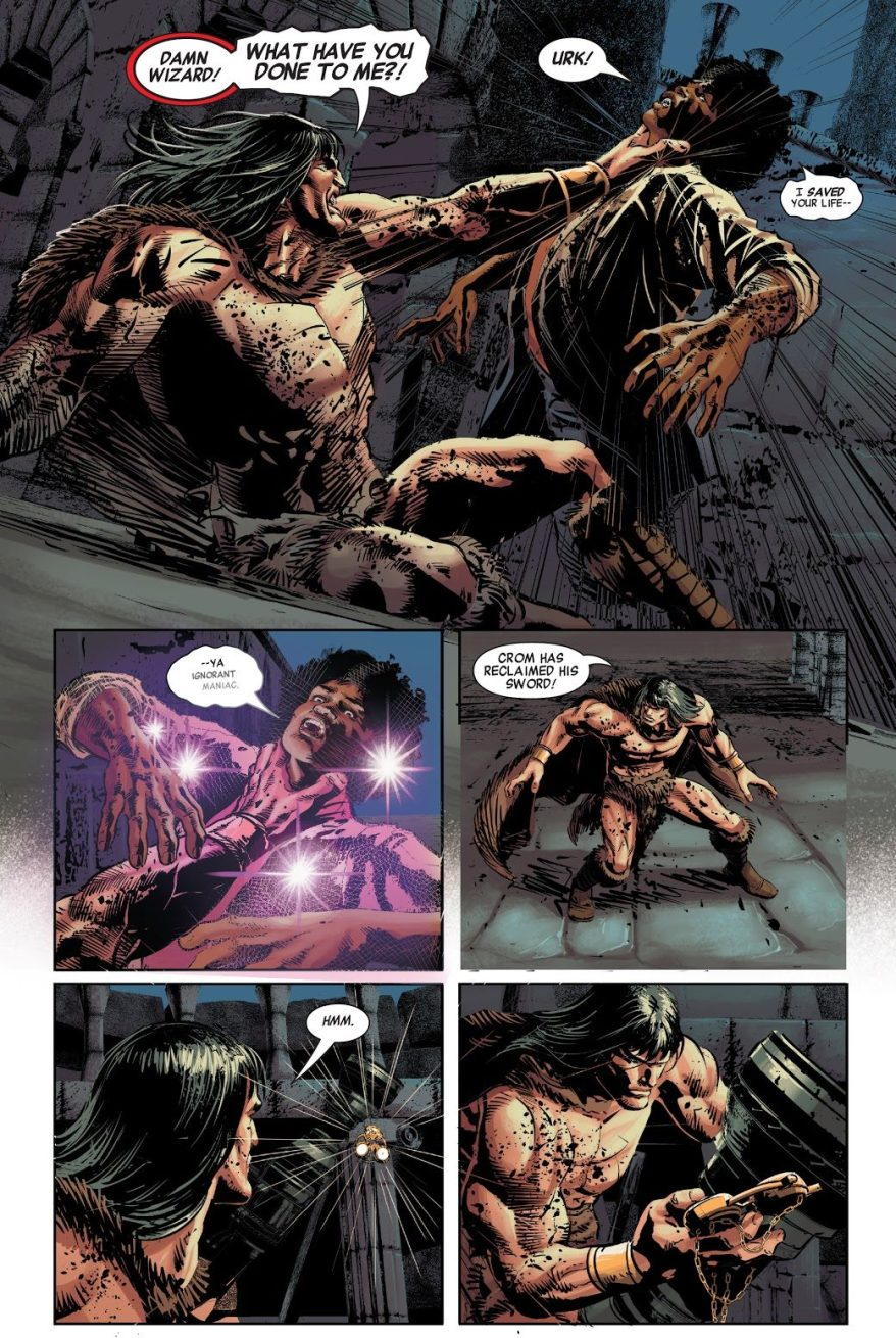Brother Voodoo Saves Conan The Barbarian's Life