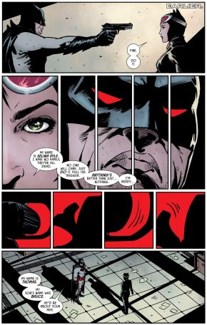 Catwoman Becomes Batman Thomas Wayne's Partner