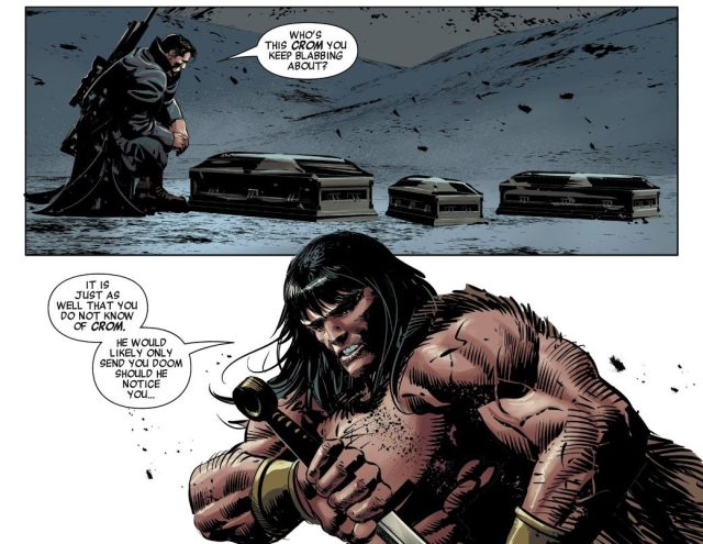 Conan The Barbarian Describes His God Crom