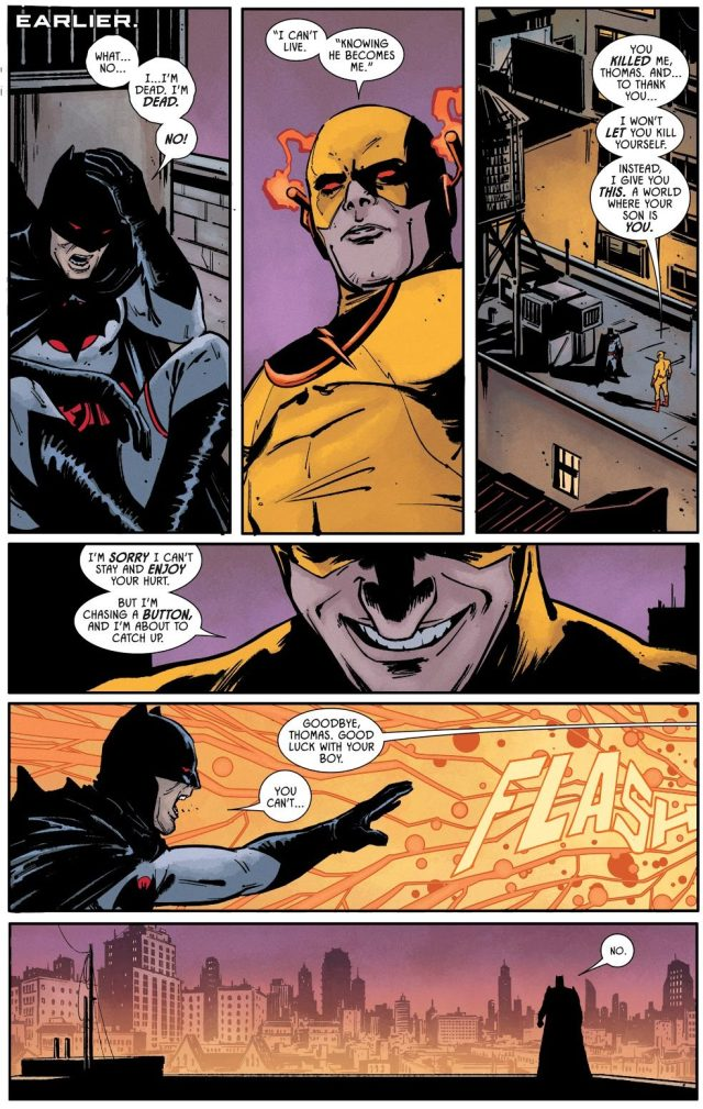 Reverse Flash Saves Batman Thomas Wayne