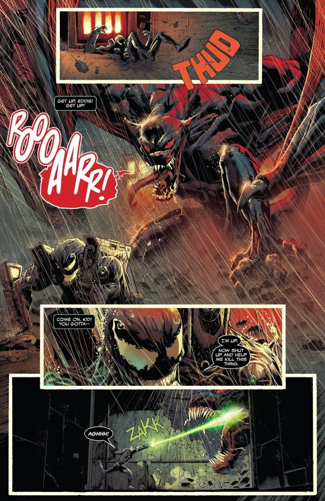 Venom VS Grendel Symbiote