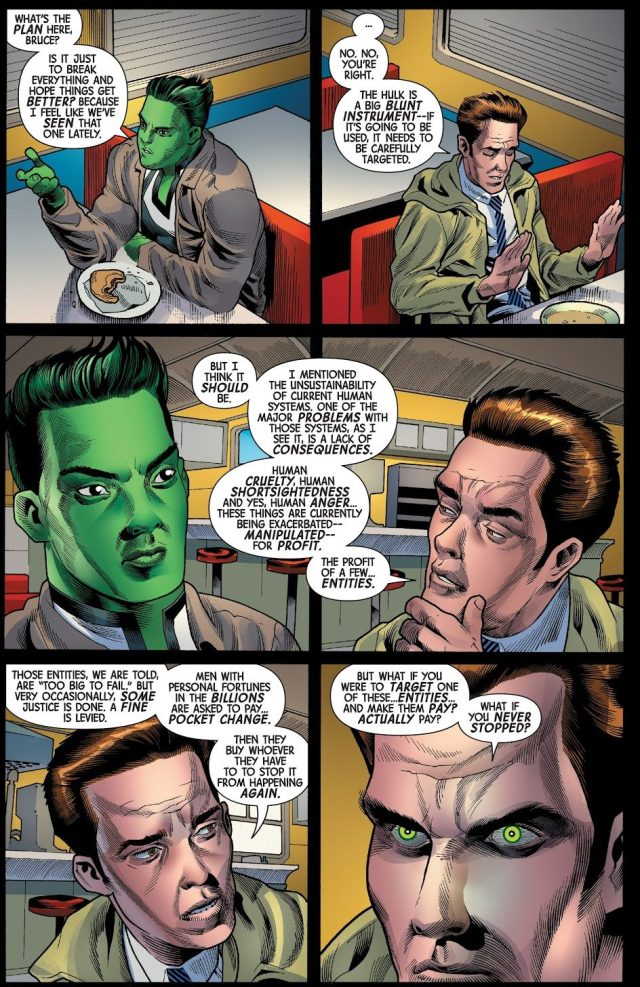 Why Bruce Banner Hates The Human World