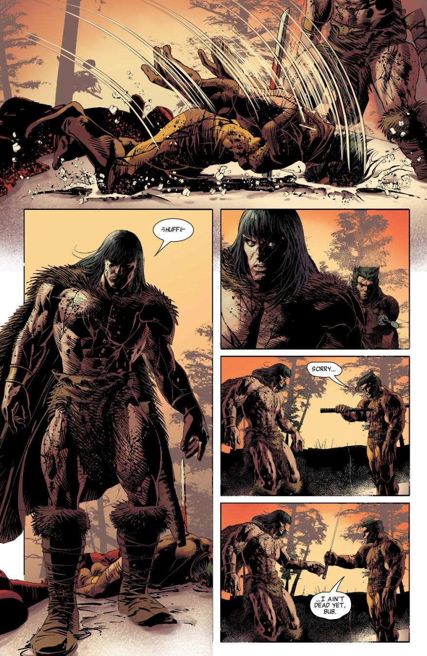 Wolverine VS Conan The Barbarian