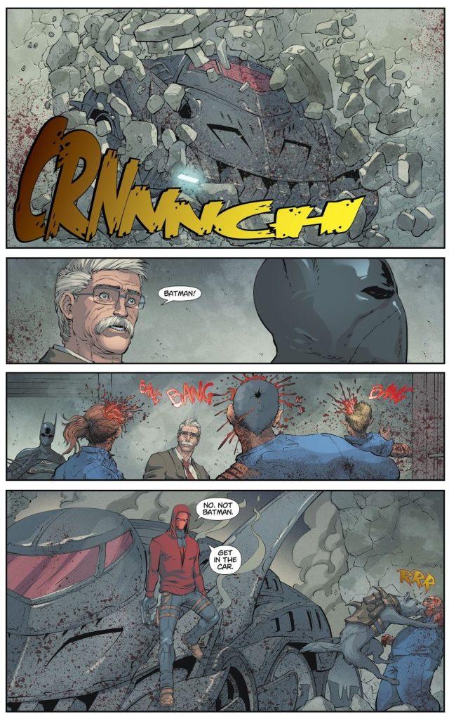 Red Hood Reveals His Secret Identity to Jim Gordon (DCeased)