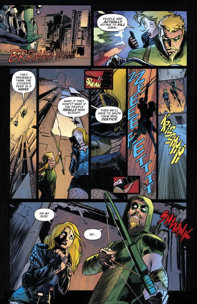 Citizen's First Apperance (Green Arrow Vol. 6 #43)