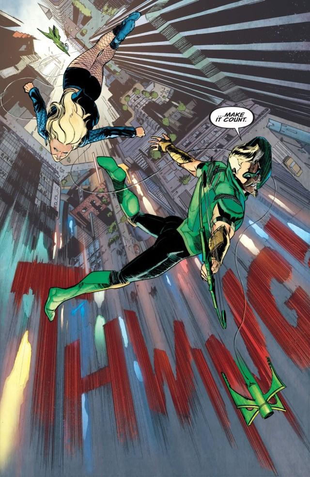 Green Arrow And Black Canary (Green Arrow Vol. 6 #48)