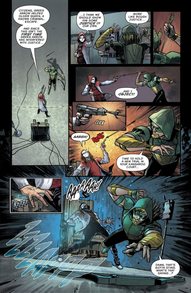 Green Arrow VS The Citizen