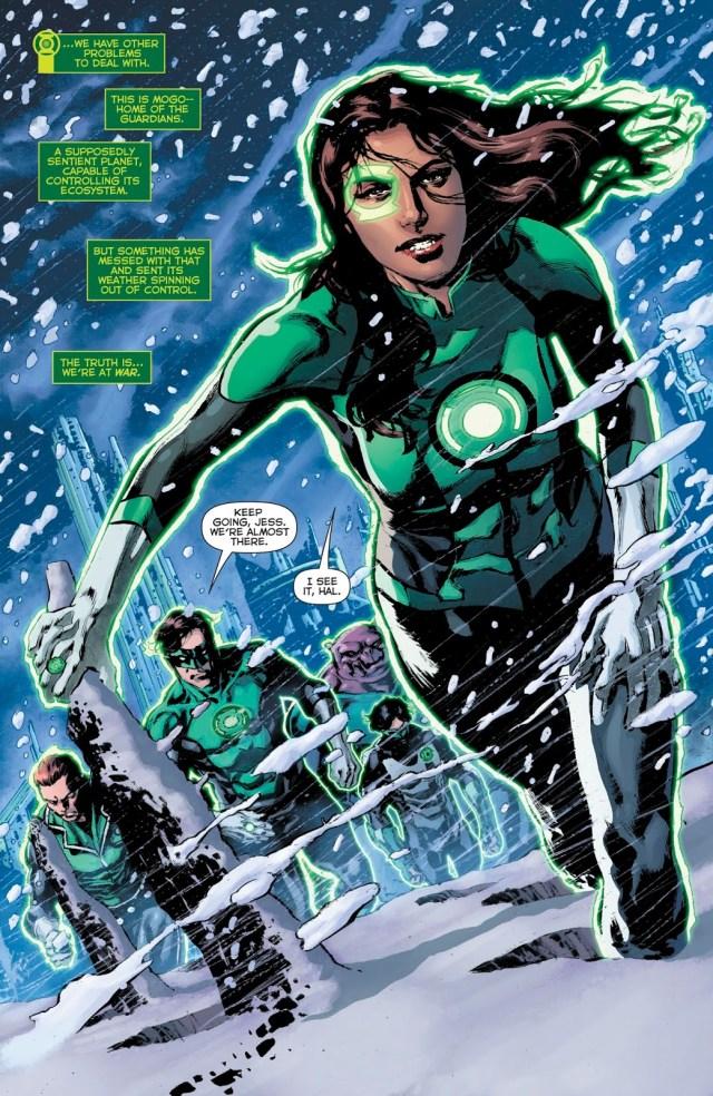 Green Lantern Corps (Green Lanterns Vol. 1 #55)