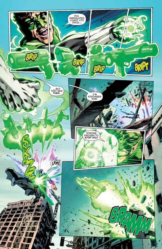 Hal Jordan VS Phantom Lantern Cyborg-Superman