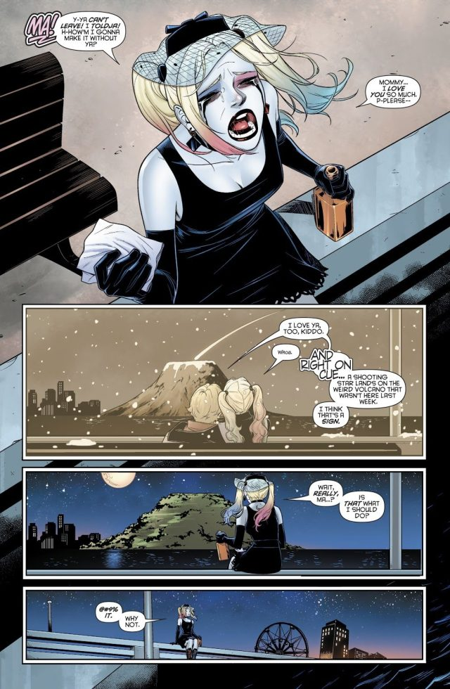 Harley Quinn Mourning Her Mother