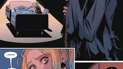 Harley Quinn's Mother Dies