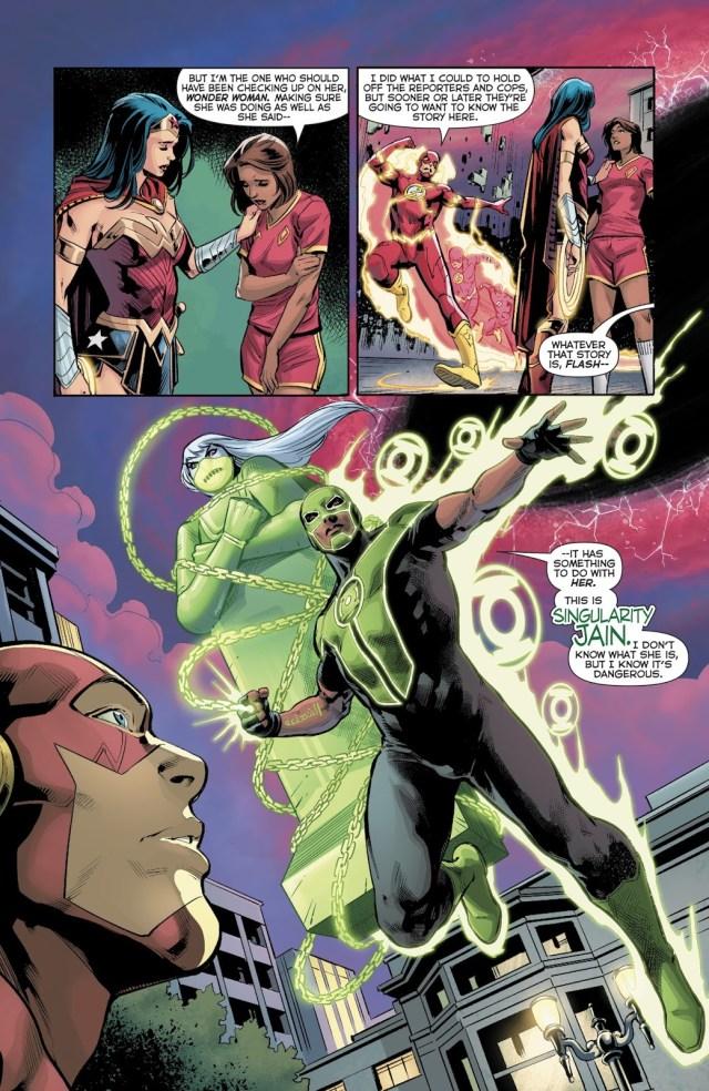 Justice League (Green Lanterns Vol. 1 #45)