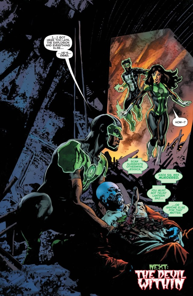 Simon Baz (Green Lanterns #50)