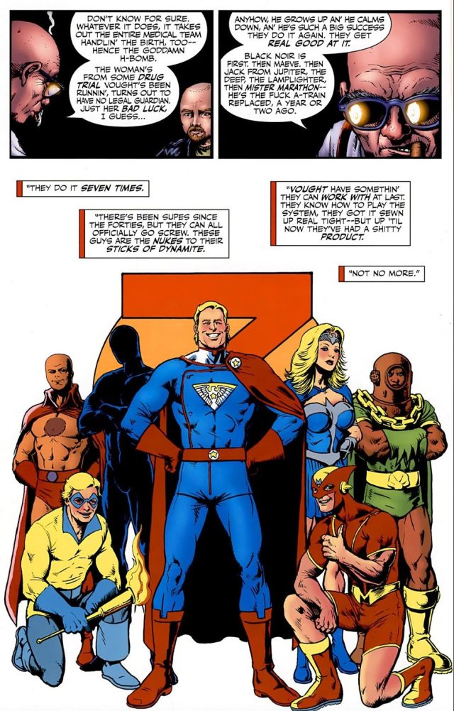 The Origin Story Of Homelander And The Seven