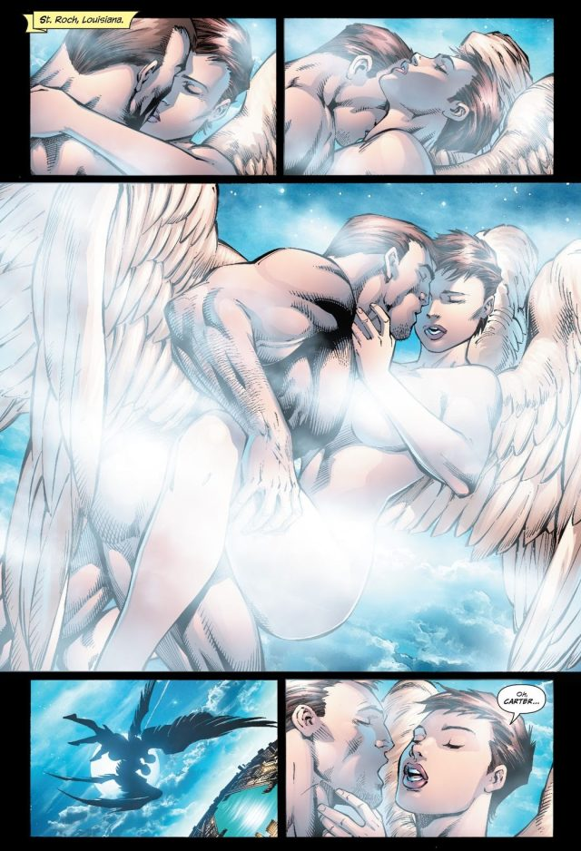 Hawkman And Hawkgirl (Justice League of America Vol. 2 #27)