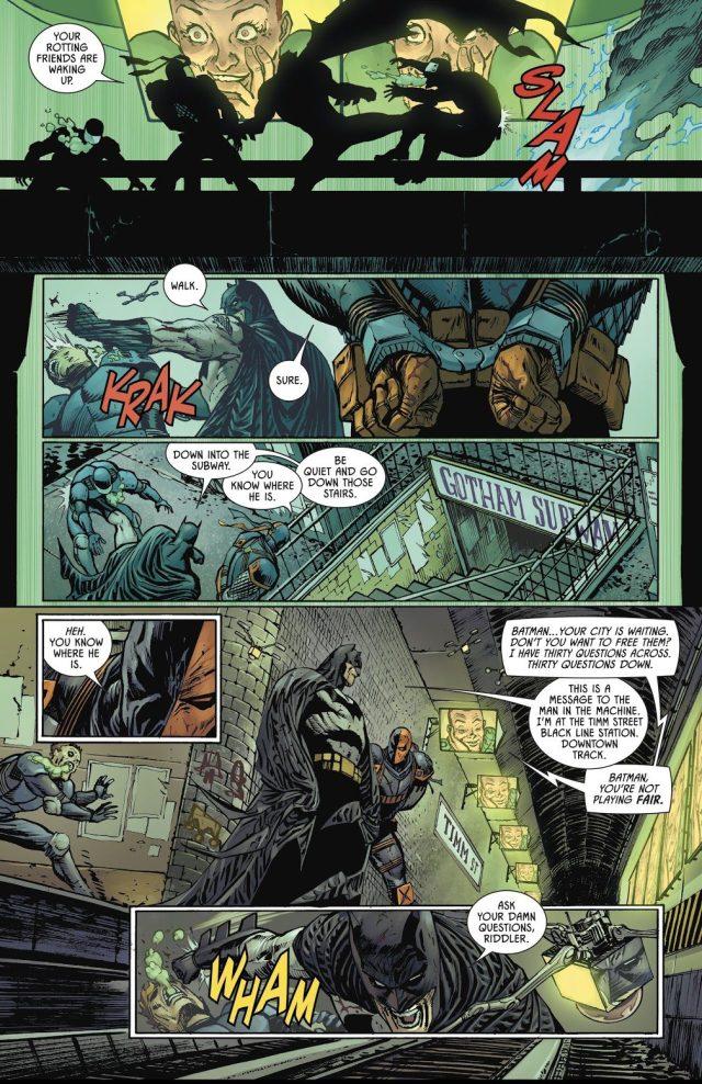 Batman Beats The Riddler In Crossword Puzzles
