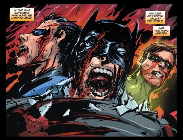 Batman, Nightwing, Green Lantern (DCeased)