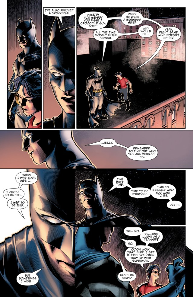 Batman's Life Advice To Shazam 1