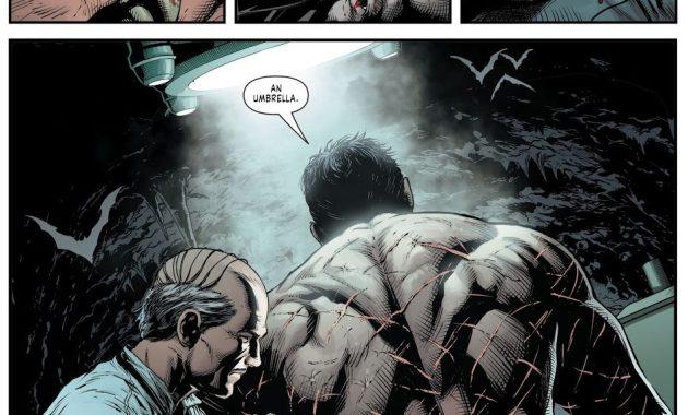 Batman's Many Scars