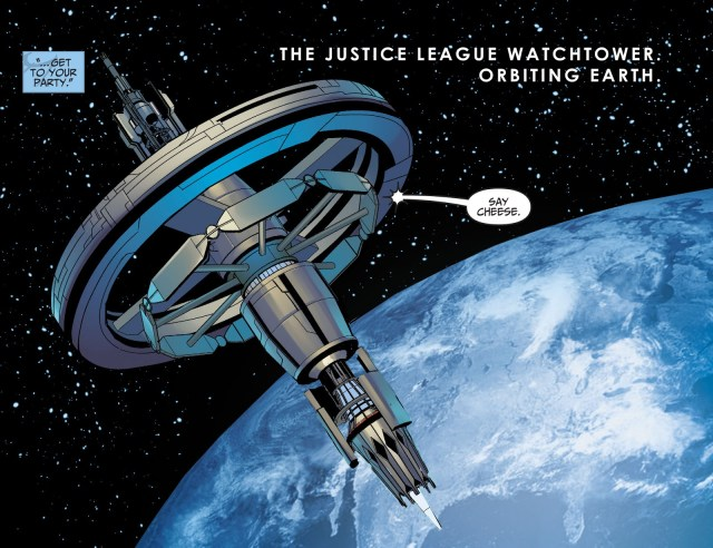 Justice League Watchtower (Injustice Year 0 #1)