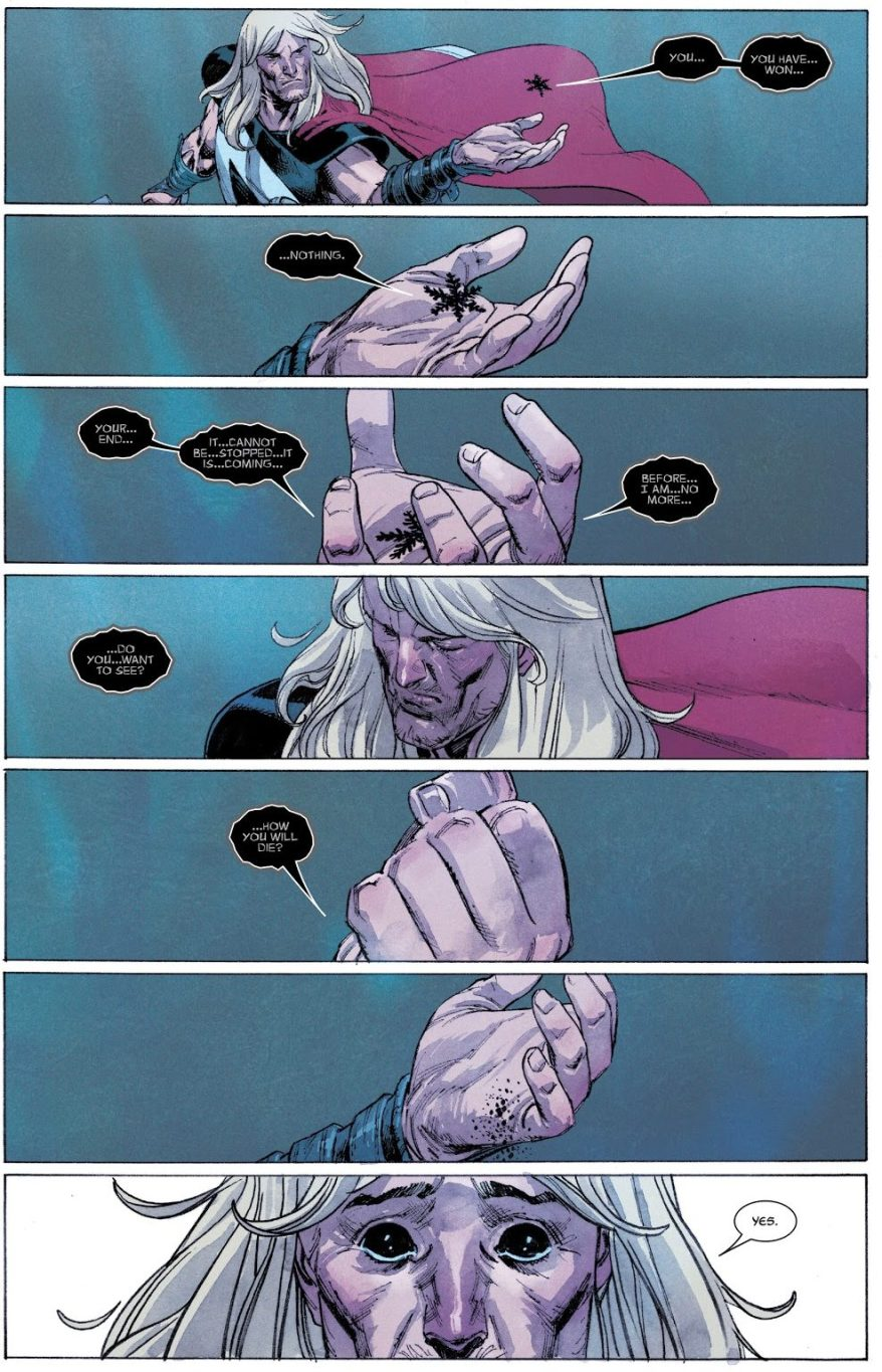 Thor's Vision Of His Death