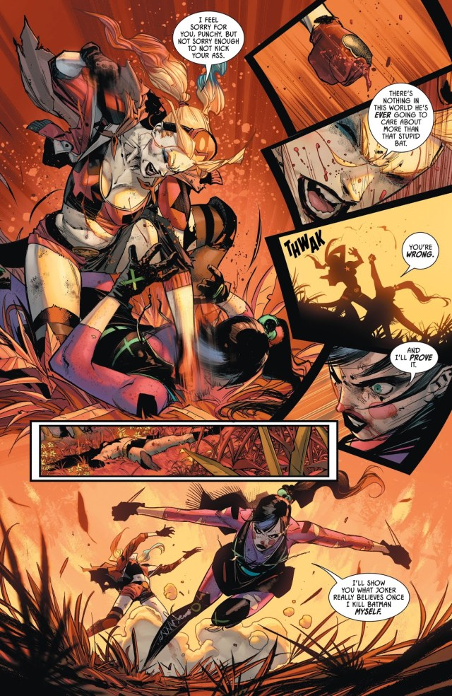 Harley Quinn VS Punchline (The Joker War)