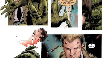 Swamp Thing Kills Maxwell Lord (DCeased)
