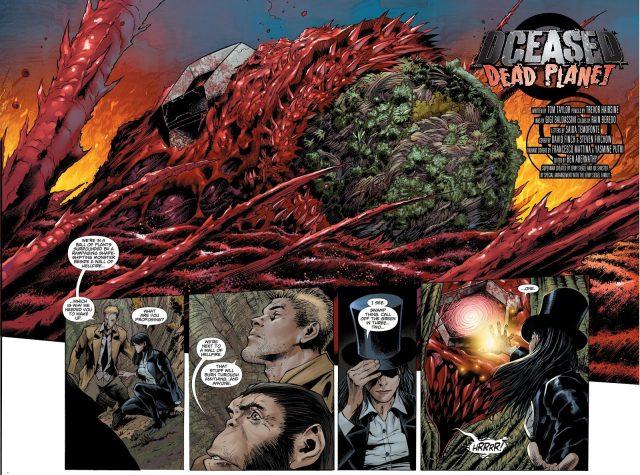 Zatanna Kills Zombie Plastic Man (DCeased)