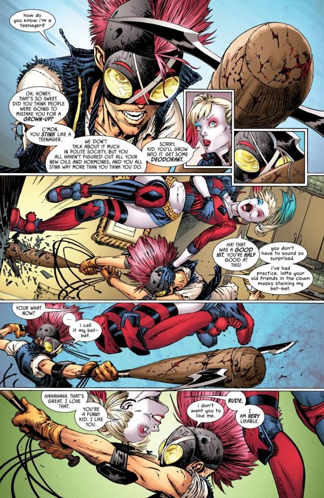 Harley Quinn Meets Clownhunter