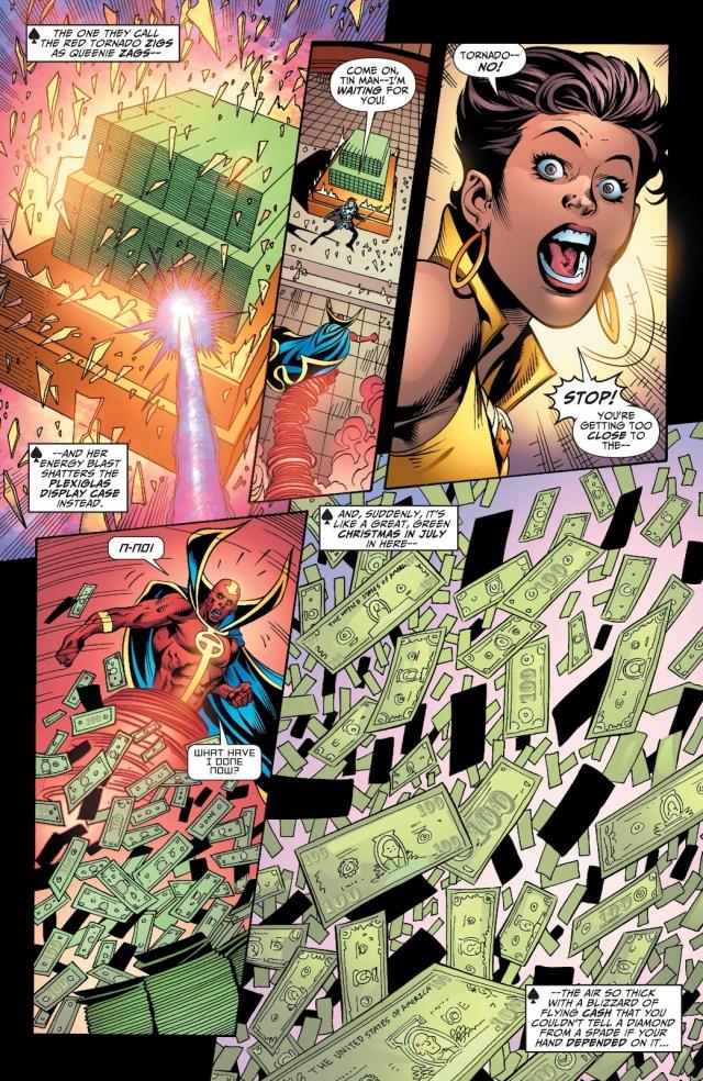 Justice League VS Royal Flush Gang