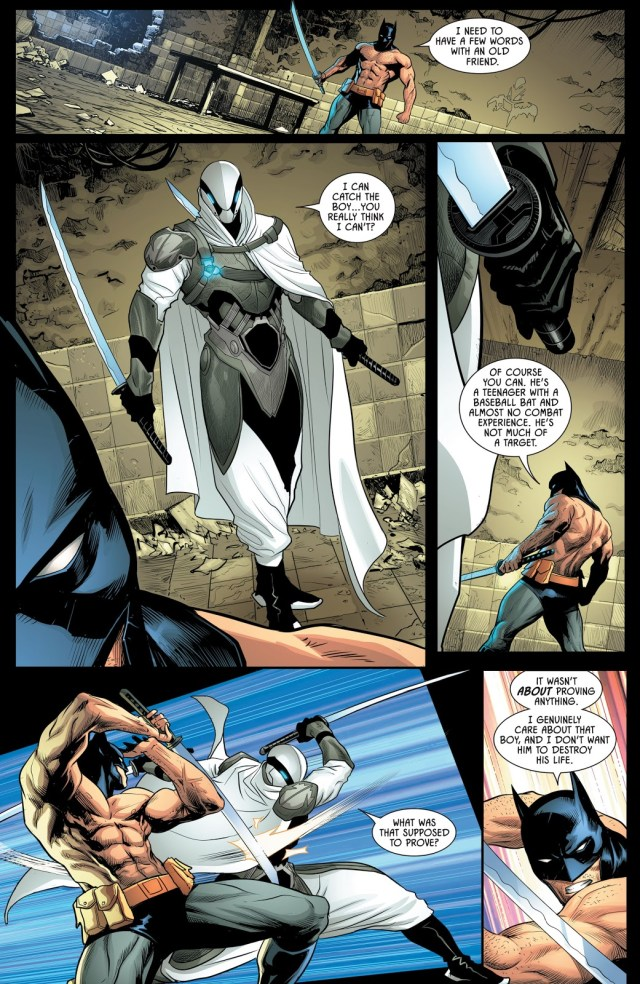 Batman Recruits Ghost-Maker