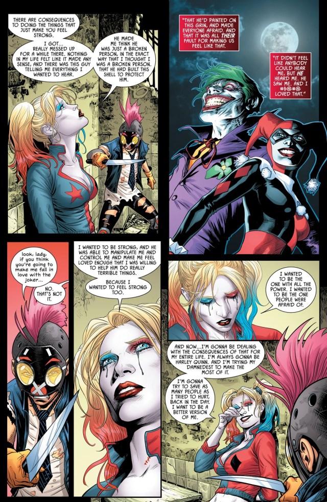Clownhunter Tries To Kill Harley Quinn